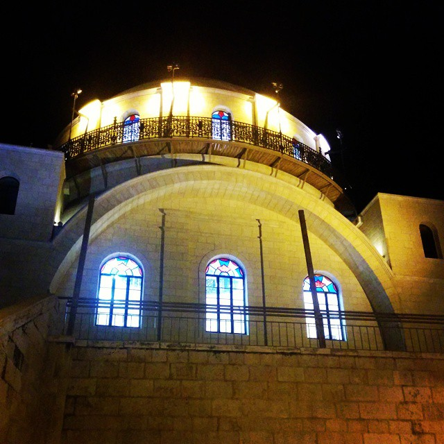 Hurvah Synagogue in Jerusalem